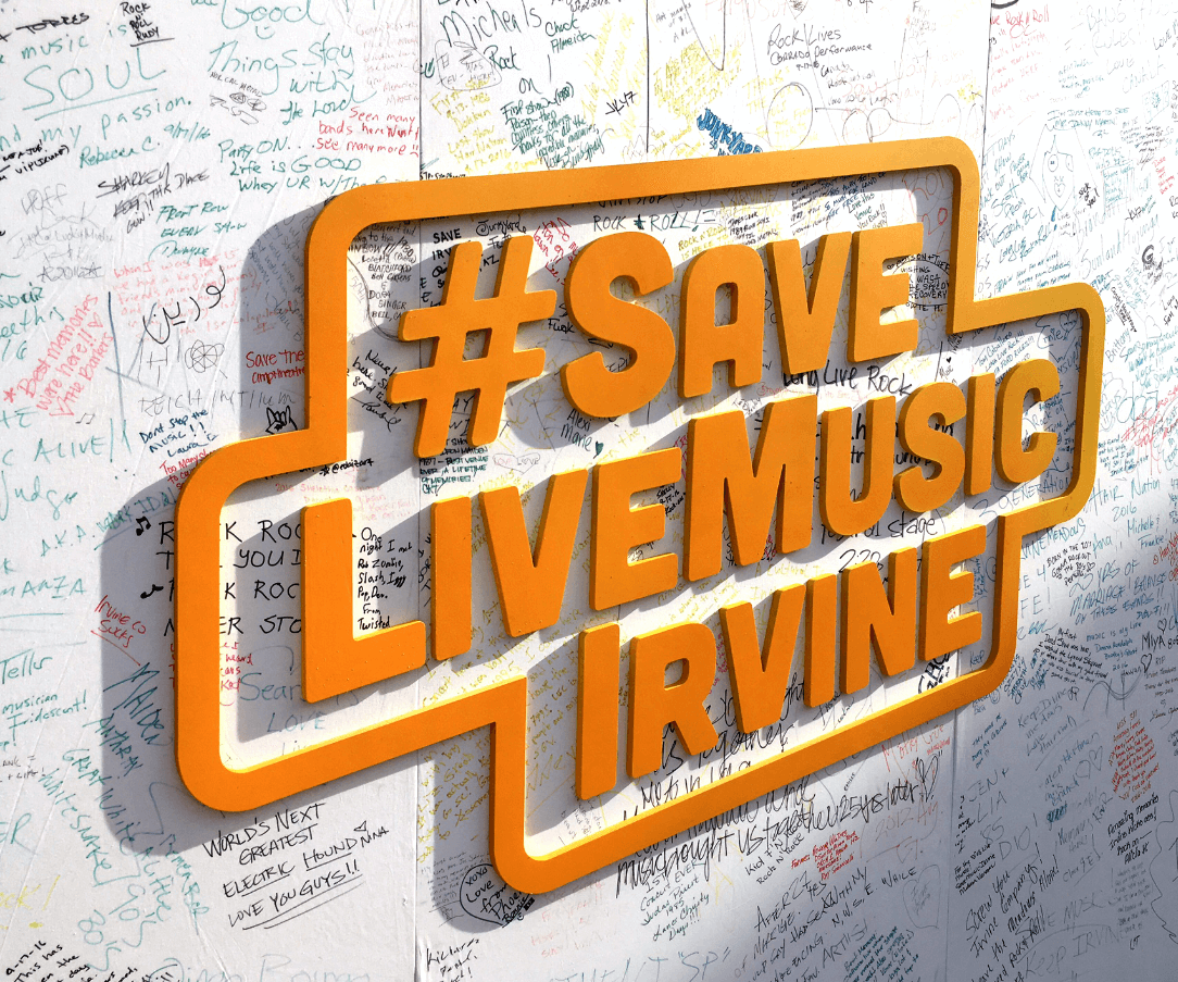 Live Nation - Save Live Music Irvine
