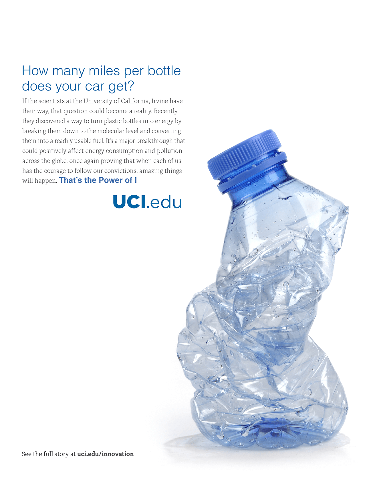 UCI - Water Bottles